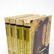 Libros: ENCICLOPEDIA SALVAT DE LA MÚSICA. Lote 104338202