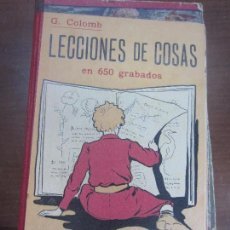 Libros: LECCIONES DE COSAS EN 650 GRABADOS . Lote 104408079