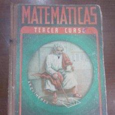 Libros: MATEMATICAS TERCER CURSO EDELVIVES . Lote 104408151