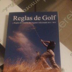 Libros: REGLAS DE GOLF. Lote 104675695