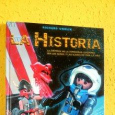 Libros: PLAYMOBIL-LA HISTORIA.RICHARD UNGLIK. Lote 104879123