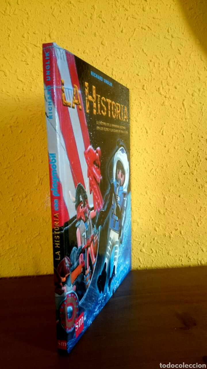 Libros: PLAYMOBIL-LA HISTORIA.RICHARD UNGLIK - Foto 3 - 104879123