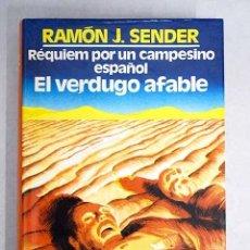 Libros: RÉQUIEM POR UN CAMPESINO ESPAÑOL ; EL VERDUGO AFABLE. Lote 104924831