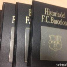 Libros: HISTORIA DEL FUTBOL CLUB BARCELONA, 6 TOMOS, EDITORIAL LABOR, A ESTRENAR. Lote 105434019