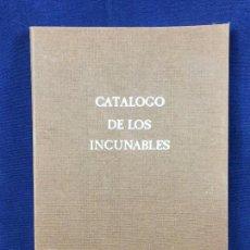 Libros: CATALOGO DE LOS INCUNABLES UNIVERSIDAD DE VALENCIA PALANCA PONS ABELARDO MARIA DEL PILAR GOMEZ 24X17. Lote 105844923