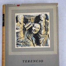 Libros: COMEDIAS:: ANDRIA ; EL VERDUGO DE SÍ MISMO ; EL EUNUCO ; FORMIÓN ; LA HECYRA ; LOS HERMANOS. Lote 106109747