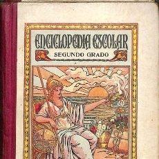 Libros: ENCICLOPEDIA ESCOLAR SEGUNDO GRADO - JUAN RUIZ ROMERO. Lote 106229406
