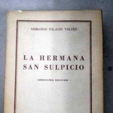 Libros: LA HERMANA SAN SULPICIO. Lote 106545307