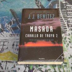 Libros: CABALLO DE TROYA 2 - MASADA - J.J. BENÍTEZ - 3ª EDICIÓN - TAPA DURA - PLANETA - NUEVO Y PRECINTADO. Lote 107003007