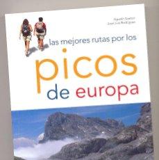 Libros: PICOS DE EUROPA. LAS MEJORES RUTAS - A. SANTORI Y J. L. RODRÍGUEZ-. Lote 107013895