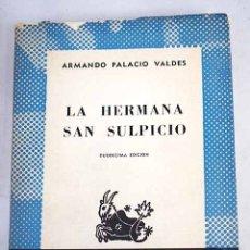 Libros: LA HERMANA SAN SULPICIO. Lote 107704962