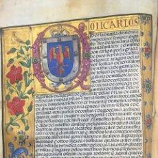 Libros: CARTA EJECUTORIA GANADA DE HIDALGUÍA DE BERNARDINO DE SOTO, VECINO DE LA VILLA DE BRIVIESCA - NO CON. Lote 107878644