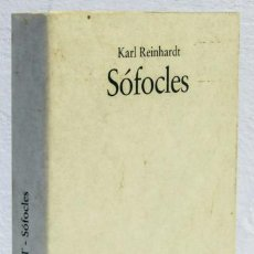 Libros: REINHARDT, KARL: SÓFOCLES (DESTINO) (CB). Lote 108042359