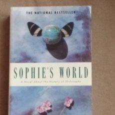 Libros: SOPHIE'S WORLD. JOSTEIN GAARDER. Lote 108317583