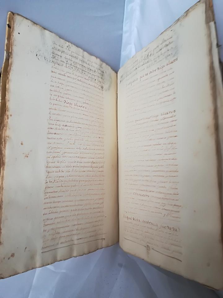 Libros: Carta Ejecutoria de los hermanos Diego y Juan Alvarez Ordoñez, y otros papeles genealógicos de los A - Foto 4 - 108856500