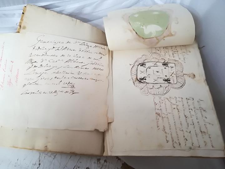 Libros: Carta Ejecutoria de los hermanos Diego y Juan Alvarez Ordoñez, y otros papeles genealógicos de los A - Foto 5 - 108856500