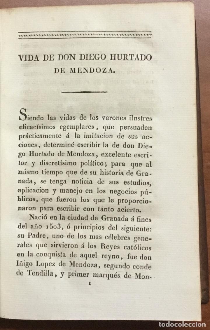 Libros: GUERRA DE GRANADA, hecha por el Rey D. Felipe II. contra los moriscos de aquel reino, sus rebeldes. - Foto 2 - 109545767