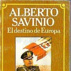 Libros: EL DESTINO DE EUROPA. - BRUGUERA.. Lote 109576848