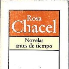 Libros: NOVELAS ANTES DE TIEMPO. - BRUGUERA.. Lote 109590142