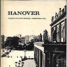 Libros: HANOVER, CAPITAL OF LOWER SAXONY. EXHIBITION CITY. - STEINBOCK.. Lote 109689479