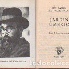 Libros: JARDIN UMBRIO. - VALLE-INCLÁN, RAMÓN DEL. Lote 109725810