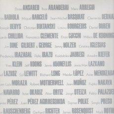 Libros: COLLECTION OF MUSEUM GUGGENHEIM BILBAO - ABURTO BACELGA, RAFAEL. Lote 109725838