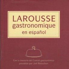 Libros: LAROUSSE GASTRONOMIQUE EN ESPAÑOL - PINTO GONZÁLEZ, JOSÉ MARÍA. Lote 109725922