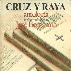 Libros: CRUZ Y RAYA. ANTOLOGIA. - AA.VV.. Lote 109899903
