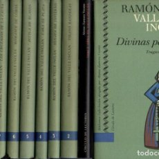 Libros: BIBLIOTECA VALLE-INCLAN. 1. DIVINAS PALABRAS. 2. TIRANO BANDERAS. 3. SONATA DE INVIERNO. 4. CARA DE. Lote 109971056