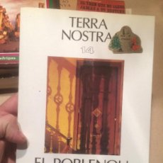Libros: ANTIGUO LIBRO EL POBLENOU TERRA NOSTRA 14 POR XAVIER BENGUEREL AÑO 1988. Lote 110127731