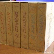 Libros: LA DIVINE COMÉDIE. - ALIGHIERI, DANTE. [DALÍ ILUSTRADOR.]. Lote 109024508