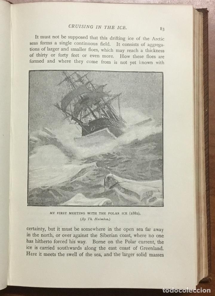 Libros: THE FIRST CROSSING OF GREENLAND. - NANSEN, Fridtjof. - Foto 5 - 109021195
