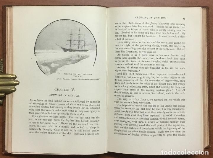 Libros: THE FIRST CROSSING OF GREENLAND. - NANSEN, Fridtjof. - Foto 6 - 109021195