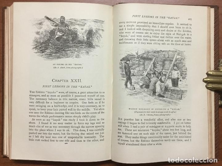 Libros: THE FIRST CROSSING OF GREENLAND. - NANSEN, Fridtjof. - Foto 10 - 109021195