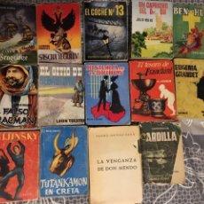 Libros: LOTE 14 MINI LIBROS ANTIGUOS-ENCICLOPEDIA PULGA,ARDILLA,AFRODISIO AGUADO. Lote 110412210
