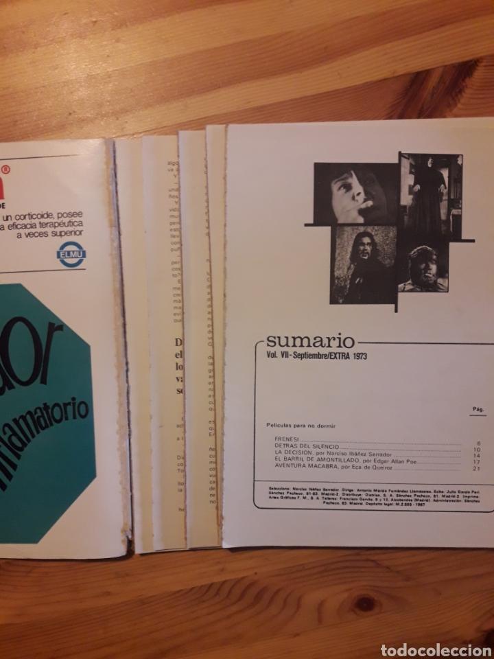 Libros: Historias para no dormir Extra narciso ibañez serrador 1973 - Foto 2 - 111589871