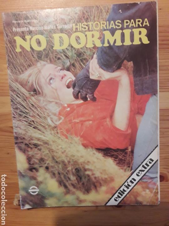 HISTORIAS PARA NO DORMIR EXTRA NARCISO IBAÑEZ SERRADOR 1973 (Libros sin clasificar)