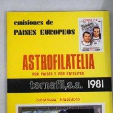 Libri di seconda mano: ASTROFILATELIA : EMISIONES DE PAISES EUROPEOS. Lote 111833092