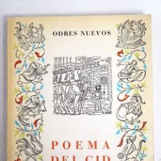 Libros: POEMA DEL CID. Lote 111935026