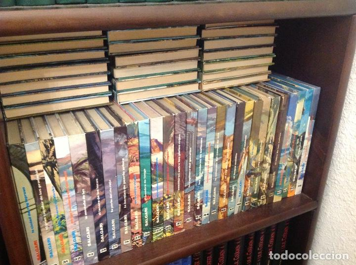 EMILIO SALGARI DE GAHE COMPLETA.78 LIBROS. (Libros Nuevos - Literatura - Narrativa - Aventuras)
