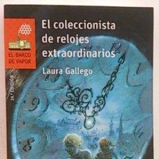Libros: EL COLECCIONISTA DE RELOJES EXTRAORDINARIOS. Lote 112193420