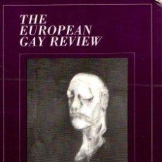 Libros: THE EUROPEAN GAY REVIEW. VOLUMEN III - NO CONSTA AUTOR. Lote 112588338