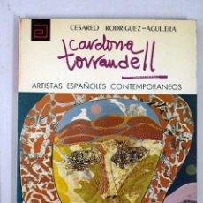 Libros: CARDONA TORRANDELL. Lote 112676771
