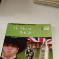 Libros: C-1740B LIBRO ALL ABOUT BRITAIN JULIE HART . Lote 112803155