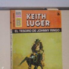 Libros: EL TESORO DE JOHNNY RINGO KEITH LUGER ASES DEL OESTE 37 - EDICIONES B -. Lote 112912107