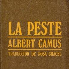 Libros: LA PESTE - ALBERT CAMUS; POCKET EDHASA - OFERTAS DOCABO. Lote 112927251