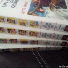 Libros: COLECCION HISTORIAS SELECCION SERIE JULIO VERNE EDITORIAL BRUGUERA. Lote 112985592
