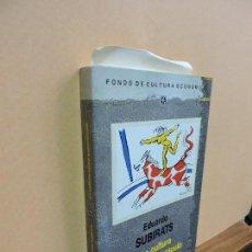 Libros: LA CULTURA COMO ESPECTÁCULO. SUBIRATS, EDUARDO. ED. FONDO DE CULTURA ECONÓMICA. MADRID 1988. Lote 113061387