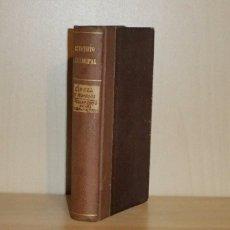 Libros: ESTATUTO MUNICIPAL + L'ANELL DE PROMESOS + REGLAMENTO DE LAS CORRIDAS DE TOROS, NOVILLOS Y BECERROS. Lote 51724683