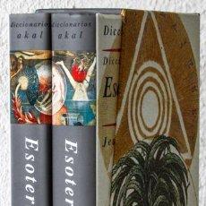 Libros: SERVIER, JEAN (DIR.): DICCIONARIO CRÍTICO DE ESOTERISMO (2 VOLS.) (AKAL) (CB). Lote 113118407